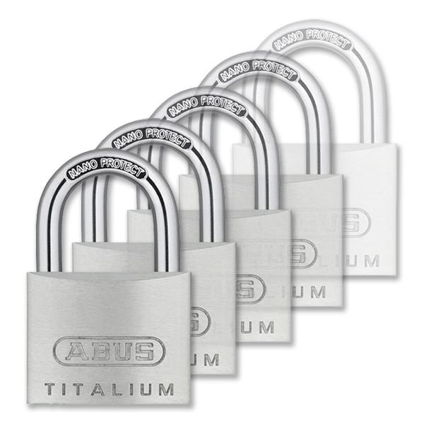 Abus Titalium azonos zárlatú lakat 60 mm