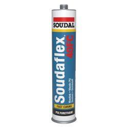 Soudal Soudaflex 40FC Poliuretán tömítő és ragasztó fekete 310 ml