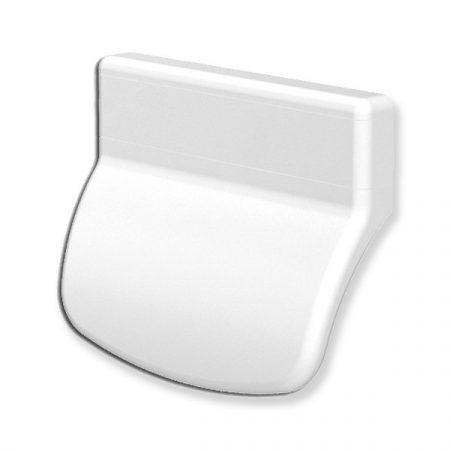 Erkélyajtó fogantyú műanyag Fehér