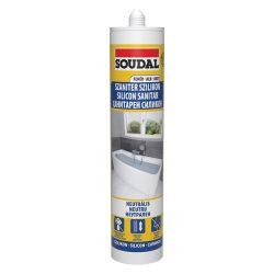 Soudal Építőipari- és üvegezési neutrális szilikon fehér 280 ml