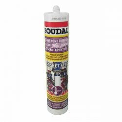 Soudal Gasketseal hőálló szilikon tömítő 280 ml