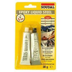 Soudal liquid 5 perces ragasztó szürke 30 g