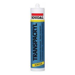 Soudal Transpakryl Fugatömítő színtelen 300 ml
