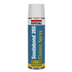 Soudal Soudabond 265 Classic spray univerzális kontakt ragasztó 500 ml