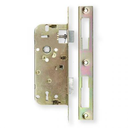 Anbo 410 45/90 bevésőzár kulcsos szögletes