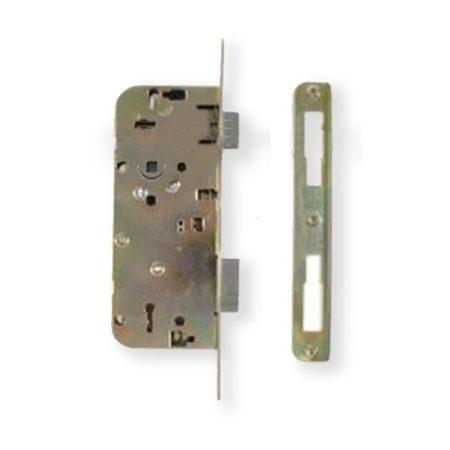 Anbo 410 45/90 bevésőzár kulcsos kerekített