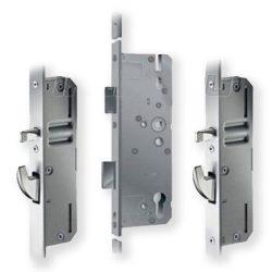 KFV AS2600 többpontos zár 2 kampós + csapos 40/92/16 kulcsműködtetésű