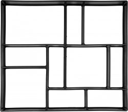 Vorel 35061 térkő sablon 450 x 400 x 40 mm vorel