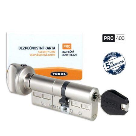 Tokoz Pro 400 zárbetét gombos 38x73