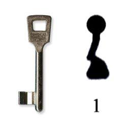 Készkulcs Titan 401-es zárhoz (1-es kulcs)