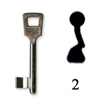 Készkulcs Titan 401-es zárhoz (2-es kulcs)