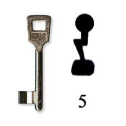 Készkulcs Titan 401-es zárhoz (5-ös kulcs)