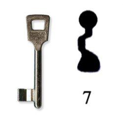 Készkulcs Titan 401-es zárhoz (7-es kulcs)