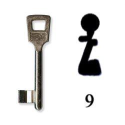 Készkulcs Titan 401-es zárhoz (9-es kulcs)
