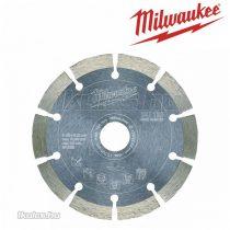 Milwaukee gyémánt vágótárcsa DU 125 x 22,2 mm