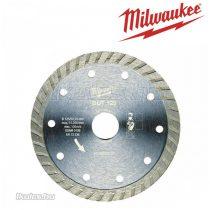 Milwaukee gyémánt vágótárcsa DUT 125 x 22,2 mm