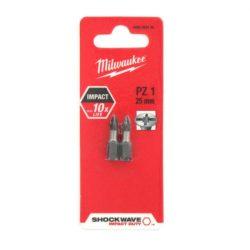 Milwaukee Shockwave bit PZ1 25mm (2db)