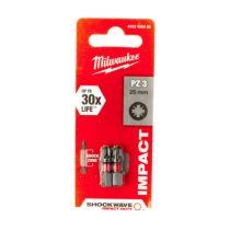 Milwaukee Shockwave bit PZ3 25mm (2db)