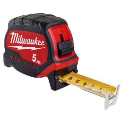 Milwaukee Prémium Széles Mérőszalag 5 m / 33 mm