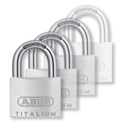 Abus Titalium Quads 4 db-os lakat szett 40 mm