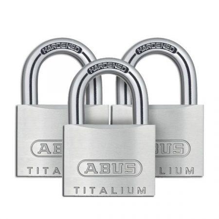 Abus 727/40 Triples Titalium lakat 4K