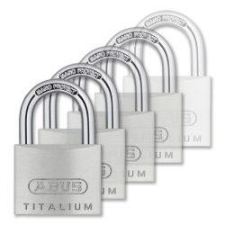Abus Titalium azonos zárlatú lakat 50 mm