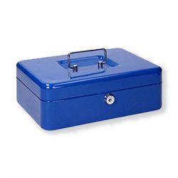 Pénzkazetta érmés kék III. 300x230x90