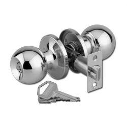 Amig AM610 amerikai zár szatén-nikkel 3 kulcsos