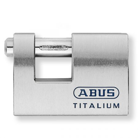 Abus 98TI/90 Titalium tömb lakat fúrt kulccsal