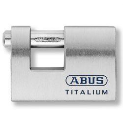 Abus 98TI/90 Titalium tömb lakat fúrt kulccsal (KA)