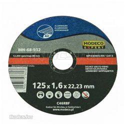 Modeco aluminium vágótárcsa 125x1,6x22,23