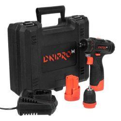 Dnipro-M CD-121Q akkumulátoros csavarbehajtó 12V