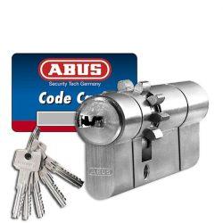 Abus D10 fogaskerekes + vészfunkciós zárbetét 30x70