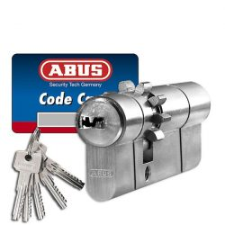 Abus D10 fogaskerekes + vészfunkciós zárbetét 35x65