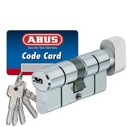 Abus D6PS törésvédett zárbetét 40x50 Gombos (G=Rövidebb)