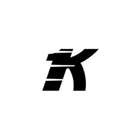 Hevederzár ellendarab 12 Omega 20mm Fehér/Barna