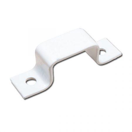 Hevederzár ellendarab 12 Omega 35mm Fehér/Barna