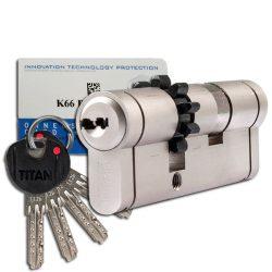 Titan K66 zárbetét 51x51 fogaskerekes ASC