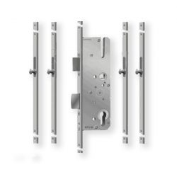 KFV AS4050 többpontos zár 45/92/24 (24 mm-es előlap)