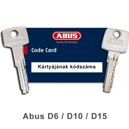 Gyártott kulcs (kód alapján)