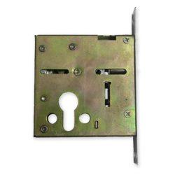 Kínai acél ajtó felső zár 24 mm-es előlappal