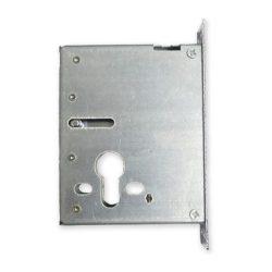 Kínai acél ajtó felső zár 30 mm-es előlappal