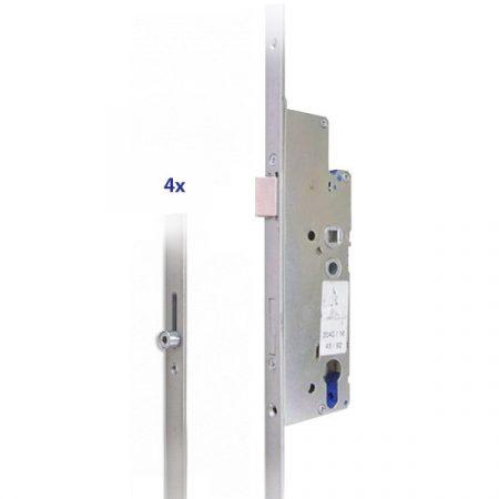 Euro Elzett Multisoft/B zár 35/92/16 (MS-B/2V)