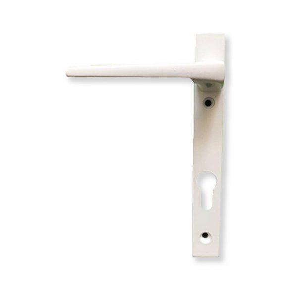 Kilincs garnitúra műanyag ajtóra - 2 csavaros