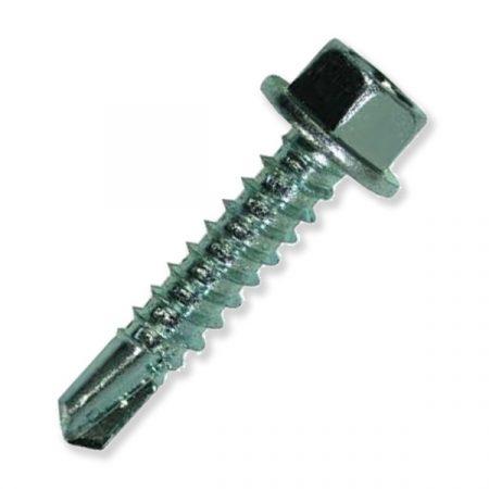 Önfúró lemezcsavar DIN 7504/K hatlapfejű peremes 4,2x16