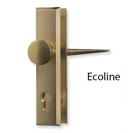 Törésvédő pajzs 55 mm gombos Ecoline