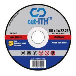 cut-ITH FLEX vágókorong WA30RBF inox 115x1,0x22