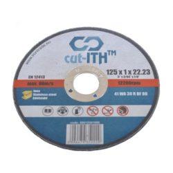 cut-ITH FLEX vágókorong WA30RBF inox 125x1,0x22