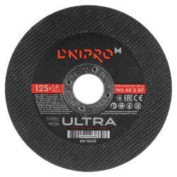 Dnipro-M WA60SBF125x1 Vágókorong 125mmx1mm