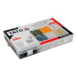 Yato YT-06651 műanyag patent készlet 300db-os renault